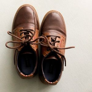 Youth Dress Shoes in Brown by Tommy Hilfiger